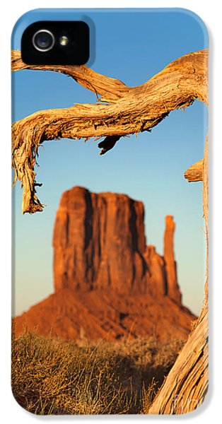 Hot Western iPhone 5 Cases - Monument Valley iPhone 5 Case by Jane Rix