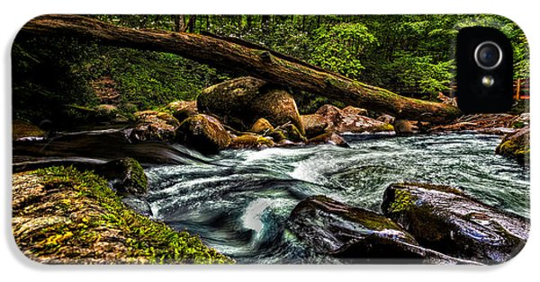 Christopher Holmes Photography iPhone 5 Cases - Mountain Stream IV iPhone 5 Case by Christopher Holmes