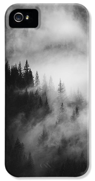 Outdoors iPhone 5 Cases - Mountain Whispers iPhone 5 Case by Mike  Dawson