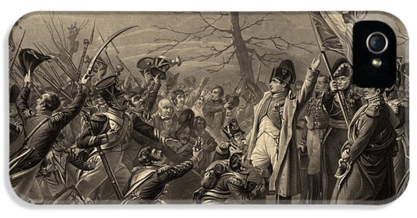 Greet iPhone 5 Cases - Napoleon Returns From The Island iPhone 5 Case by Photo Researchers