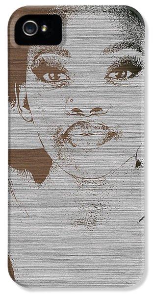 African iPhone 5 Cases - Natasha Brown iPhone 5 Case by Naxart Studio