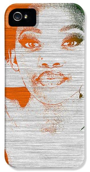African iPhone 5 Cases - Natasha iPhone 5 Case by Naxart Studio