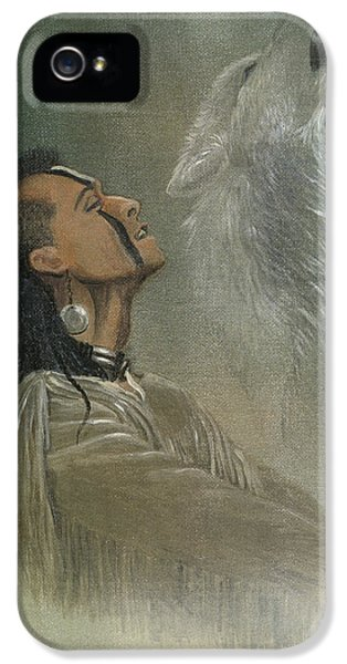 Culture iPhone 5 Cases - Native American Indian iPhone 5 Case by Morgan Fitzsimons