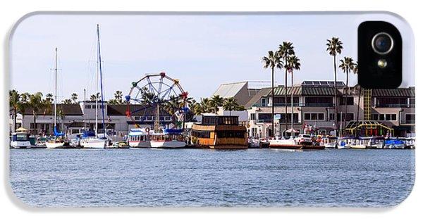 Newport Beach iPhone 5 Cases - Newport Beach Balboa Fun Zone iPhone 5 Case by Paul Velgos