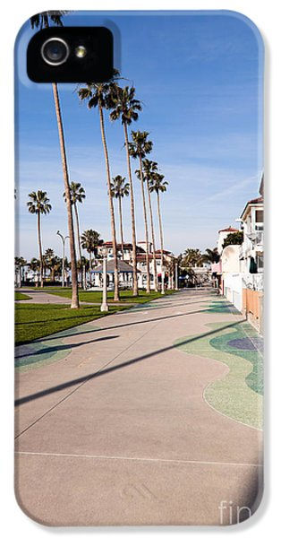 Balboa iPhone 5 Cases - Newport Beach Boardwalk iPhone 5 Case by Paul Velgos