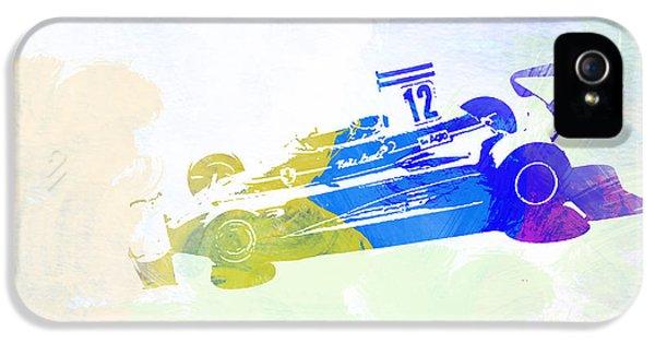 Formula One iPhone 5 Cases - Niki Lauda iPhone 5 Case by Naxart Studio