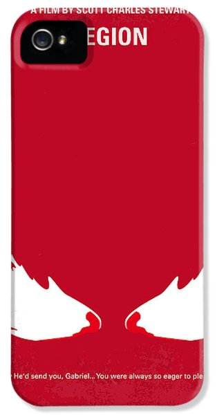 Apocalypse iPhone 5 Cases - No050 My legion minimal movie poster iPhone 5 Case by Chungkong Art