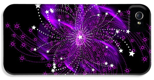 Fire Works iPhone 5 Cases - Oh My Stars iPhone 5 Case by Diane Schuster