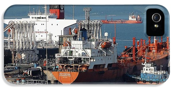 Technological iPhone 5 Cases - Oil Tanker iPhone 5 Case by Ria Novosti