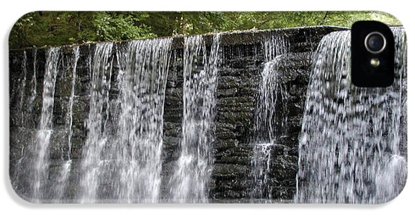 Water iPhone 5 Cases - Old Mill Waterfall iPhone 5 Case by Bill Cannon