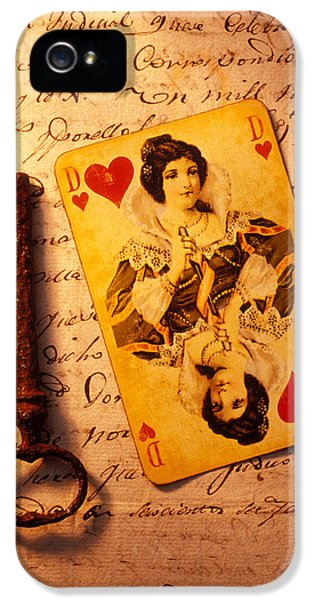 Old Playing And Key IPhone 5 / 5s Case by Garry Gay