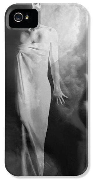 Artsy iPhone 5 Cases - Out of the Fog - Self Portrait iPhone 5 Case by Jaeda DeWalt