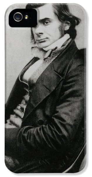 Huxley iPhone 5 Cases - Photograph Of Biologist Thomas Huxley, In 1857 iPhone 5 Case by