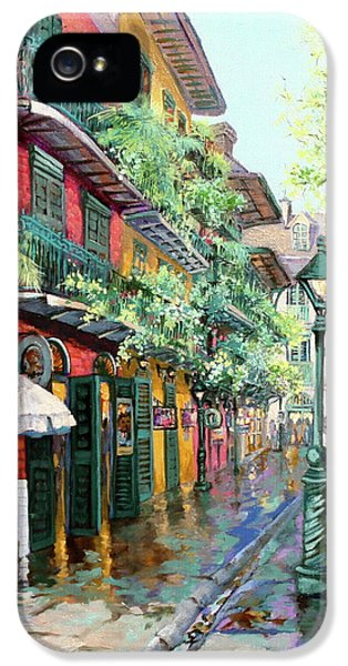 City Scene iPhone 5 Cases - Pirates Alley iPhone 5 Case by Dianne Parks