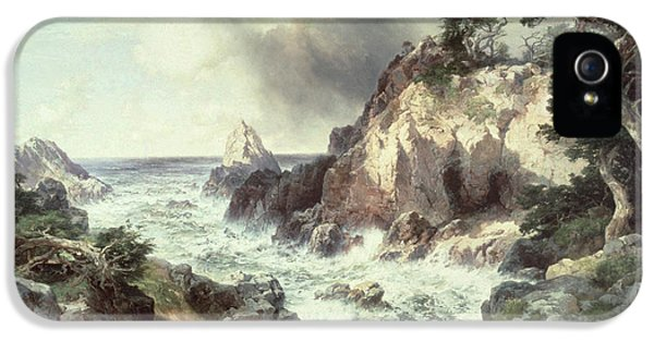 Point Lobos At Monterey In California IPhone 5 / 5s Case by Thomas Moran