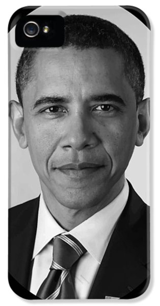 Obama iPhone 5 Cases - President Barack Obama iPhone 5 Case by War Is Hell Store
