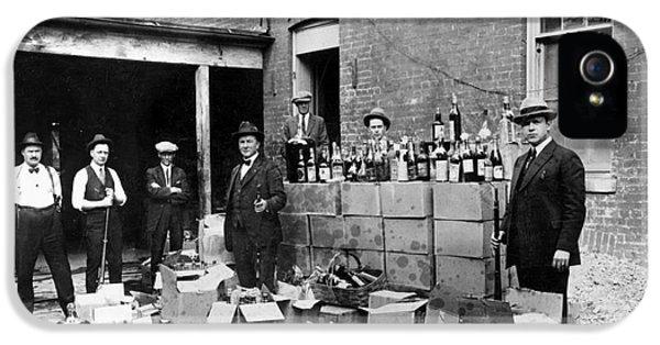 Washington D.c. iPhone 5 Cases - Prohibition, 1922 iPhone 5 Case by Granger