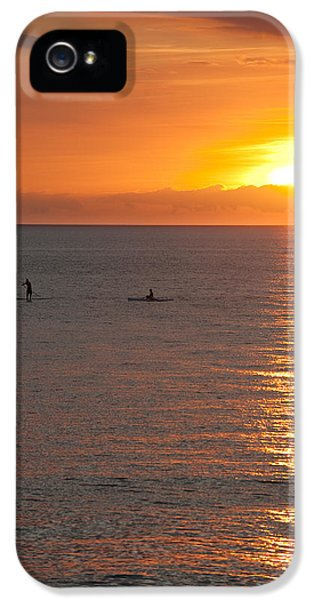 Board iPhone 5 Cases - Puerto Vallarta Sunset iPhone 5 Case by Sebastian Musial