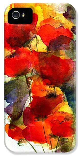 Bouquet iPhone 5 Cases - Reaching iPhone 5 Case by Anne Duke