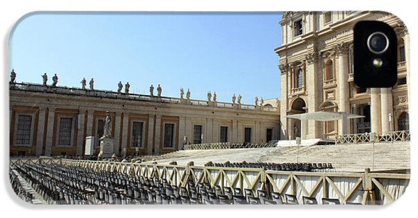 Wednesday iPhone 5 Cases - Ready for Popes appearance iPhone 5 Case by Munir Alawi