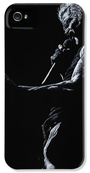 Idols iPhone 5 Cases - Rebel Yell 1 iPhone 5 Case by Richard Young