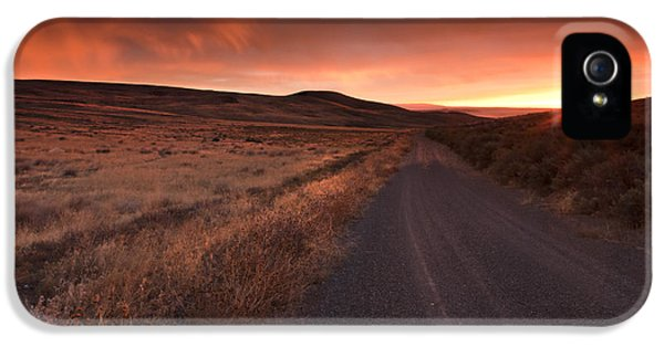 Country iPhone 5 Cases - Red Dawn iPhone 5 Case by Mike  Dawson