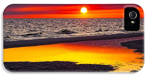 Reflection iPhone 5 Cases - Reflections iPhone 5 Case by Janet Fikar