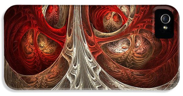 Abstract Digital Art iPhone 5 Cases - Respiratory iPhone 5 Case by Lourry Legarde