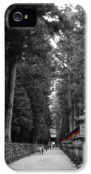 Gate iPhone 5 Cases - Road to the Temple iPhone 5 Case by Naxart Studio