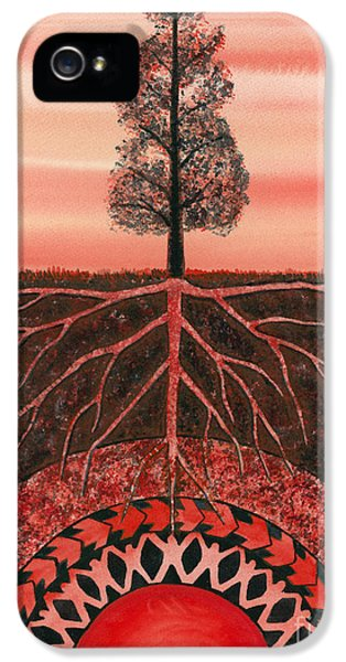 Security iPhone 5 Cases - Root Chakra iPhone 5 Case by Catherine G McElroy