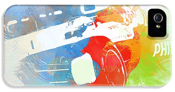 Formula One iPhone 5 Cases - Rubens Baricello iPhone 5 Case by Naxart Studio