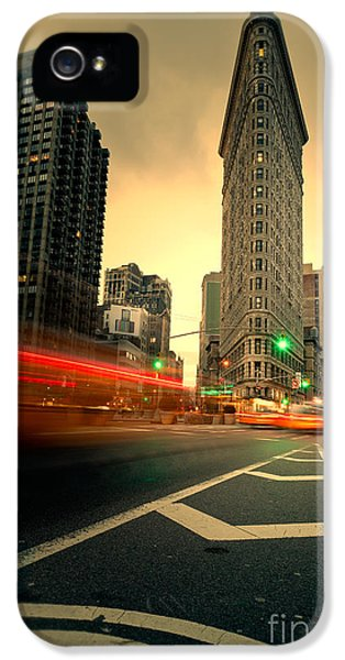 Softly iPhone 5 Cases - Rushing into another day iPhone 5 Case by John Farnan