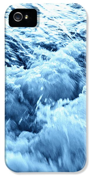 Exuberance iPhone 5 Cases - Rushing Water iPhone 5 Case by Skip Nall