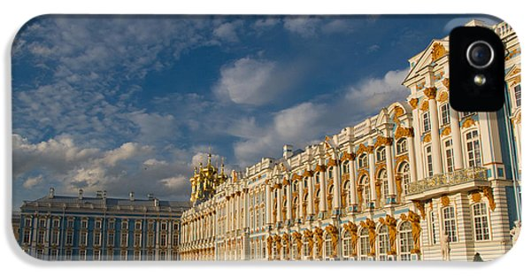 Build iPhone 5 Cases - Saint Catherine Palace iPhone 5 Case by David Smith