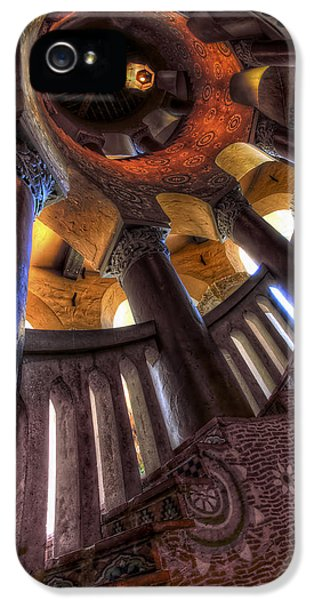 Point Of View iPhone 5 Cases - Santa Barbara Courthouse iPhone 5 Case by Sean Foster