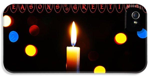 Hanukkah Card iPhone 5 Cases - Seasons Greetings iPhone 5 Case by Nishanth Gopinathan