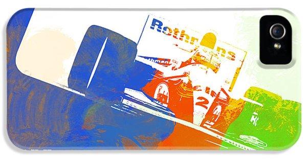 Speed iPhone 5 Cases - Senna iPhone 5 Case by Naxart Studio