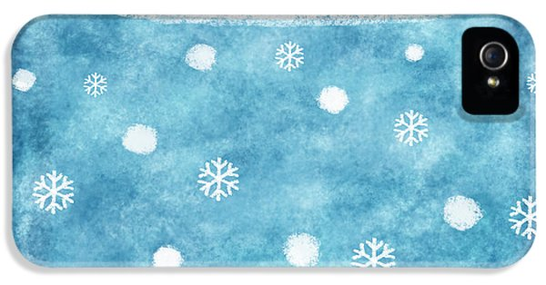 Snow Winter IPhone 5 / 5s Case by Setsiri Silapasuwanchai