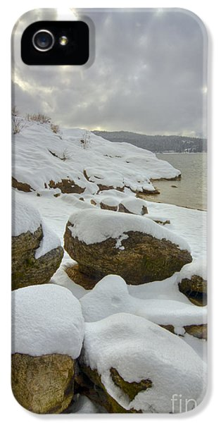 Snow iPhone 5 Cases - Snowcapped iPhone 5 Case by Idaho Scenic Images Linda Lantzy