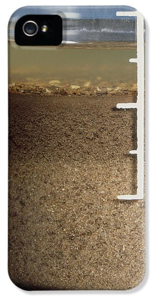 Loam iPhone 5 Cases - Soil Analysis iPhone 5 Case by Sheila Terry