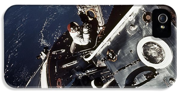 Anti-gravity iPhone 5 Cases - Space: Apollo 9 iPhone 5 Case by Granger