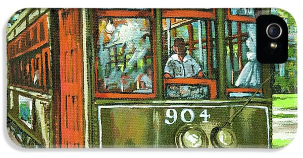 Squares iPhone 5 Cases - St. Charles No. 904 iPhone 5 Case by Dianne Parks