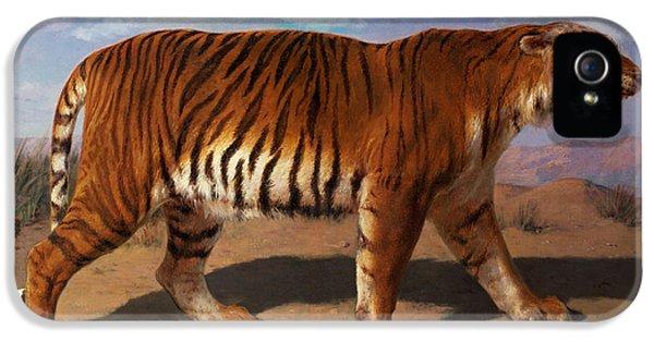 Stalking Tiger IPhone 5 / 5s Case by Rosa Bonheur