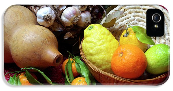 Tangerine iPhone 5 Cases - Still-life iPhone 5 Case by Carlos Caetano