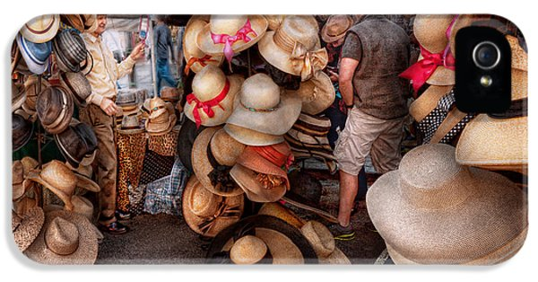 Milliner iPhone 5 Cases - Storefront - Hat stand iPhone 5 Case by Mike Savad