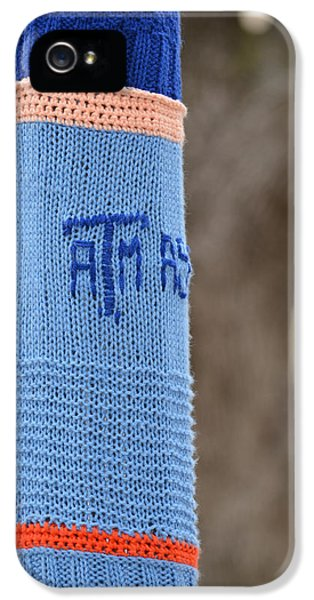Stitch iPhone 5 Cases - TAMU Astronomy Crocheted Lamppost iPhone 5 Case by Nikki Marie Smith