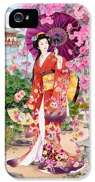 Anniversary iPhone 5 Cases - Teien iPhone 5 Case by Haruyo Morita
