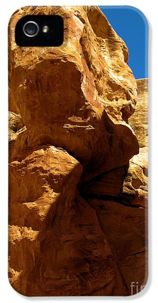Grim Reaper iPhone 5 Cases - The Grim Reaper At Canyonlands iPhone 5 Case by Adam Jewell