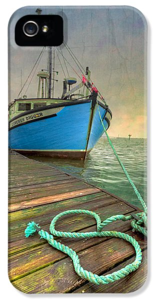 Crabbing iPhone 5 Cases - The Lurcher Digger iPhone 5 Case by Debra and Dave Vanderlaan