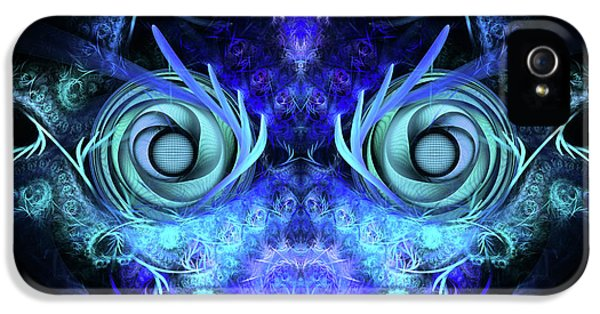Mask iPhone 5 Cases - The Mask iPhone 5 Case by John Edwards
